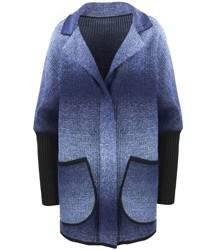 Ciepły płaszczyk kurtka OMBRE sweter
