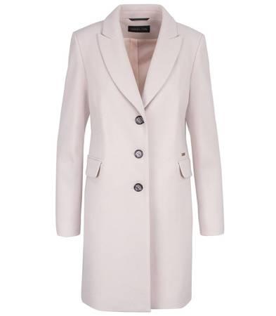 Elegancki Klasyczny jednorzędowy płaszcz