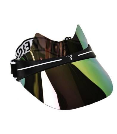 Hologram Lustrzany daszek uszy kot opaska