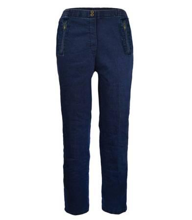 Klasyczne stylowe spodnie jeansy