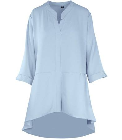 Koszula Tunika oversize dłuższa z tyłu