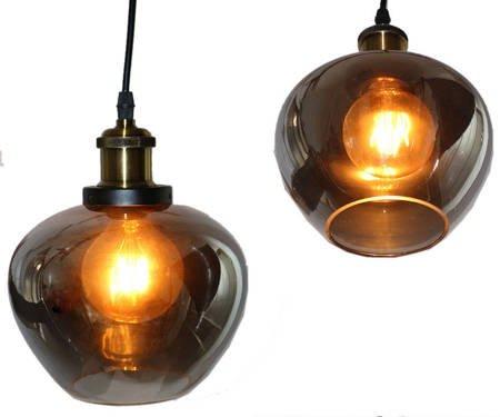 LAMPA SUFITOWA Premium  SREBRO I BRĄZ