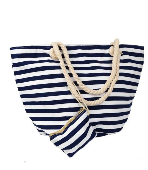 Mega torba sportowa plażowa paski LATO
