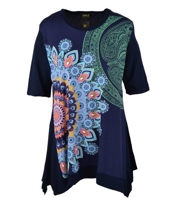 Piękna bluzka w stylu BOHO Mandale