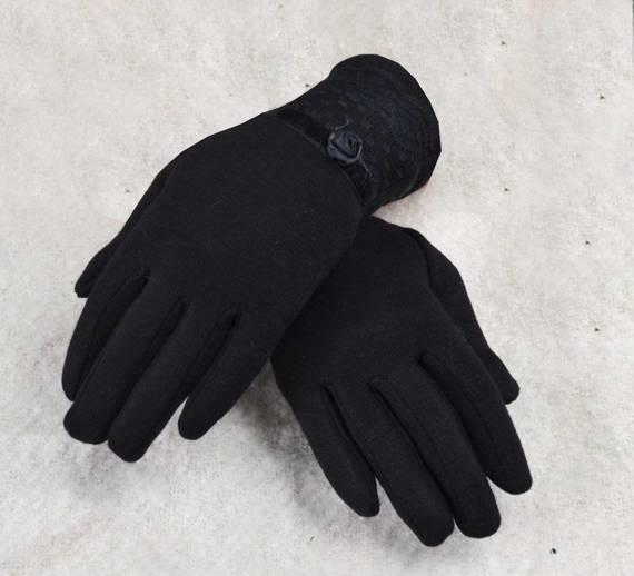 Piękne eleganckie rękawiczki z  KORONKĄ