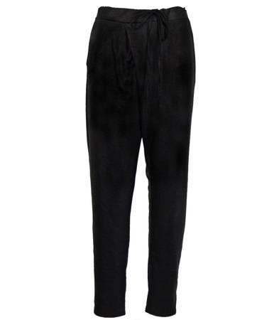 Spodnie materiałowe z zakładką BAGGY