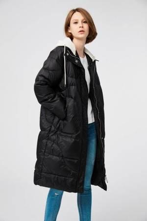Super dłuższy płaszcz puchowy OVERSIZE