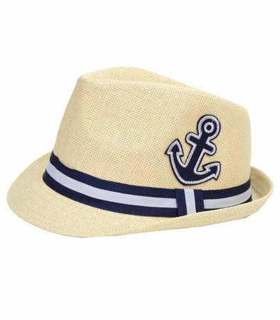 kultowy chłopięcy kapelusz słomkowy PANAMA